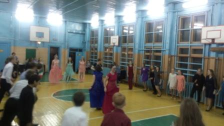 9 марта в нашей школе состоялся бал
